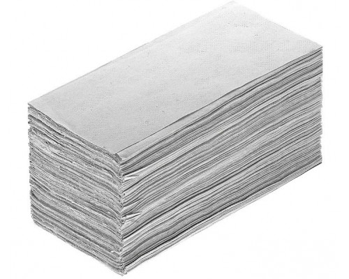 Листовые полотенца сложение V (вт.сырье) 23х22,5см 250шт UM003V
