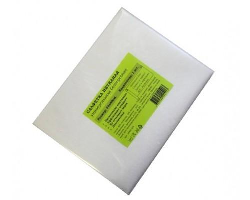 Салфетка универсальная нетканая 34х40см белая 80гр/м2 1шт/упак UCMS 305