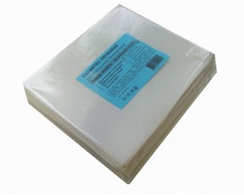Салфетка универсальная нетканая 34х40см белая 60гр/м2 10шт/упак