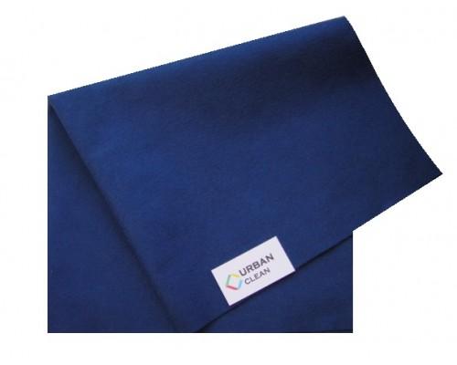 Салфетка универсальная нетканая 34х40см синяя 80гр/м2