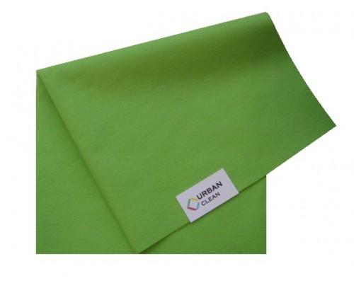 Салфетка универсальная нетканая 34х40см зеленая 80гр/м2