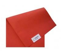 Салфетка универсальная нетканая 34х40см красная 80гр/м2
