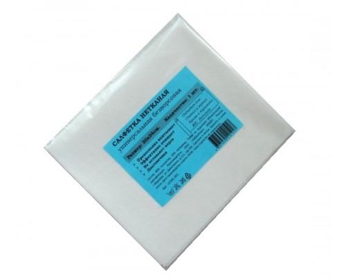 Салфетка универсальная нетканая 34х30см белая 60гр/м2 1шт/упак UCMS 301