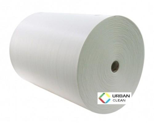 Протирочный материал в рулоне 60гр/м2 белый (1 рулон 400 листов, лист 34х40см)