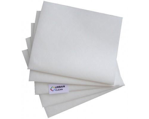 Салфетка нетканая 30х34см белая 60гр/м2 универсальная UCMS 007