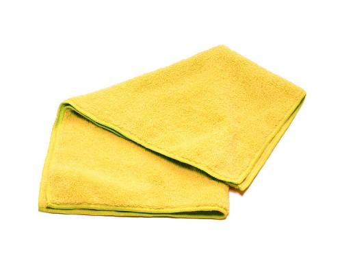 Салфетка из микрофибры 220гр/м2 35х40см желтая UCMF 009