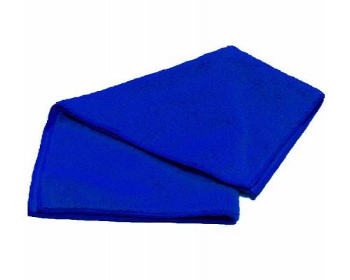 Салфетка из микрофибры 220гр/м2  30х30см синяя
