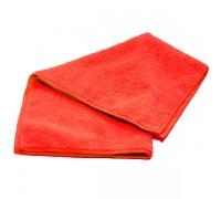 Салфетка из микрофибры 220гр/м2  30х30см красная