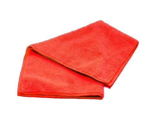 Салфетка из микрофибры 250гр/м2 35х40см красная UCMF 025