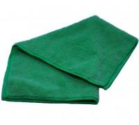 Салфетка из микрофибры 220гр/м2  30х30см зеленая