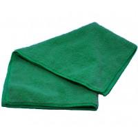 Салфетка из микрофибры 250гр/м2  30х30см зеленая