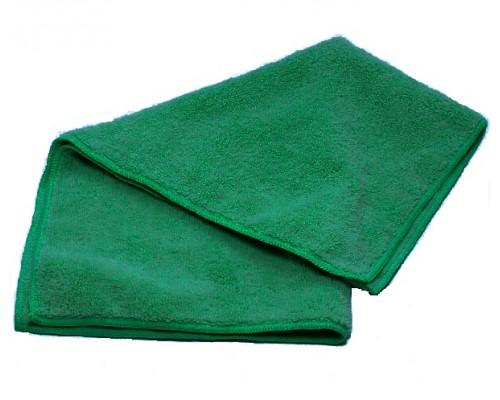 Салфетка из микрофибры 250гр/м2  30х30см зеленая UCMF 020