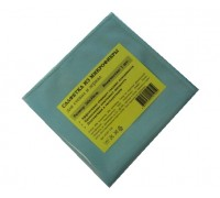 Салфетка из микрофибры 270гр/м2  30х30см голубая 1шт/упак