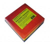 Салфетка из микрофибры 220гр/м2  30х30см ассорти 5шт/упак