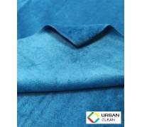 Салфетка из микрофибры ЭКСТРА 380гр/м2  30х30см синяя