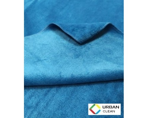 Салфетка из микрофибры 380гр/м2  50х60см синяя UCMF 124