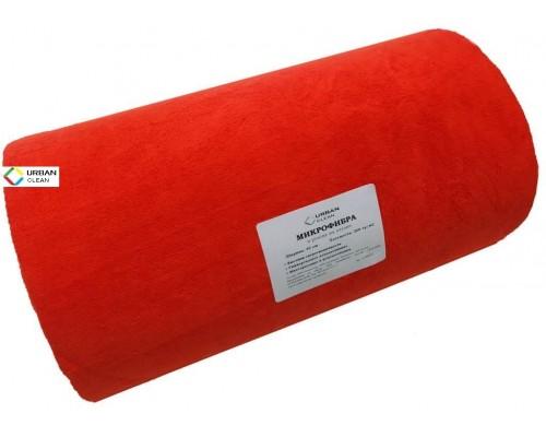 Микрофибра 200гр/м2 рулон 0,4х25м красный UCMF Roll-r