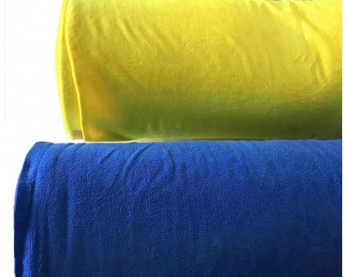 Микрофибра 220гр/м2 рулон 1,6м желтый UCMR 004