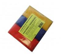 Салфетка из микрофибры 220гр/м2  30х30см ассорти 3шт/упак
