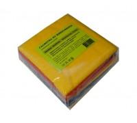 Салфетка из микрофибры 220гр/м2  30х30см ассорти 10шт/упак