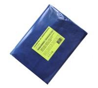 Салфетка из микрофибры 220гр/м2  50х60см синяя 1шт/упак для пола