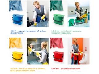 Цветовая кодировка в клининге