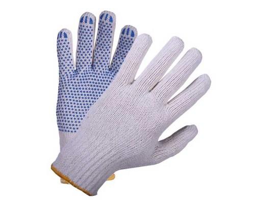 Перчатки 6 нити c ПВХ UCP 008