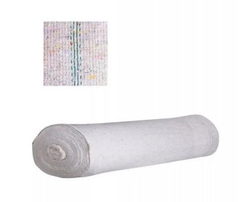 Холстопрошивное полотно 1,5х50м ЛЮКС+ белое  UCNP 019