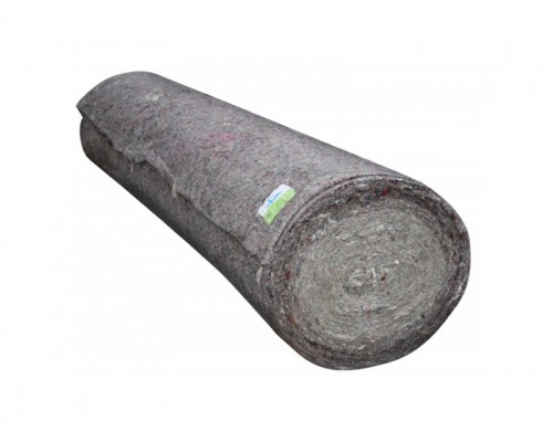 Холстопрошивное полотно 0,75х50м ЭКОНОМ 180гр/м2 серое UCNP 020