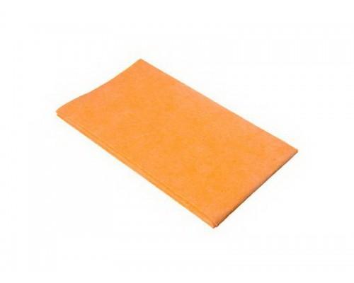 Тряпка пола из вискозы 50х60см оранжевая 135гр/м2 UCVK 004