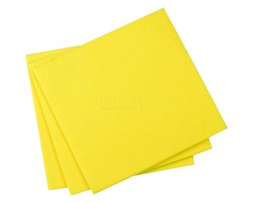 Салфетка из вискозы 30х30см желтая 80гр/м2 UCVK 001