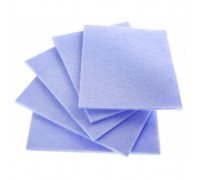Салфетка из вискозы 30х30см голубая 80гр/м2