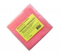 Салфетка из вискозы 30х30см розовая 80гр/м2 3шт/упак