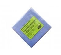 Салфетка из вискозы 30х30см голубая 80гр/м2 3шт/упак